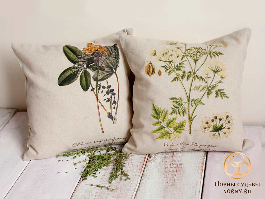 Ведьмины подушки для с травами для сна