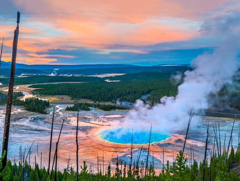 Йеллоустоун вулкан, супервулкан, йеллоустоун когда извержение, йеллоустоун последние новости, йеллоустоун на карте